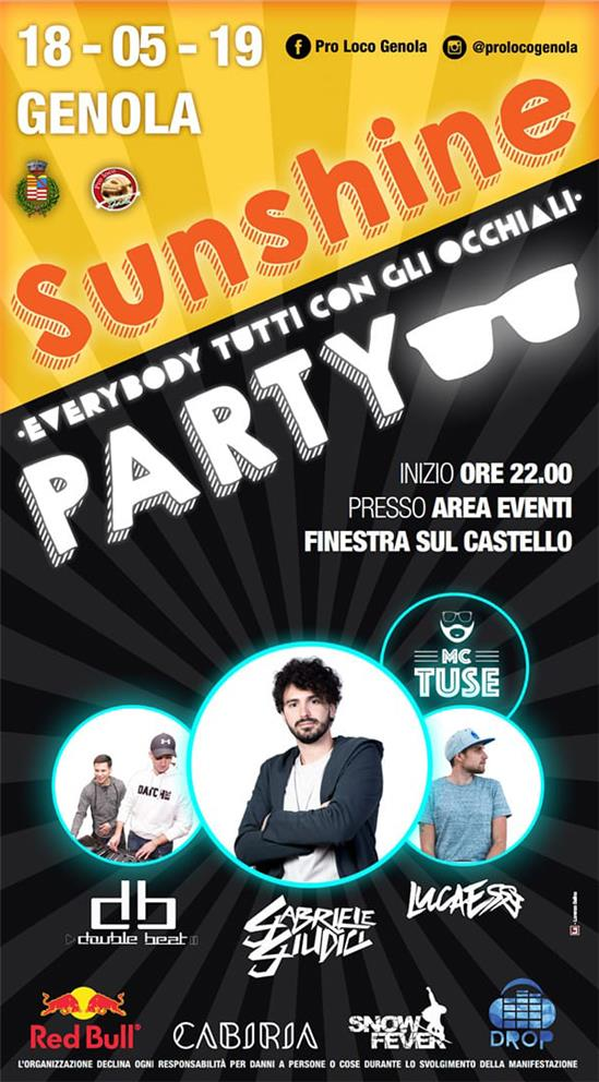 SUNSHINE PARTY